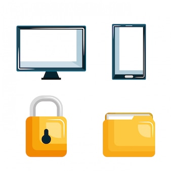 Set technology data digital security design