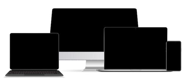 Установить технологические устройства с пустым дисплеем