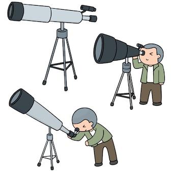 Set of telescopes