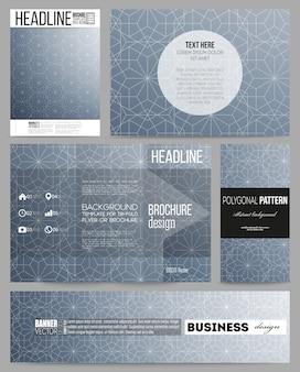 Set of templates for presentation