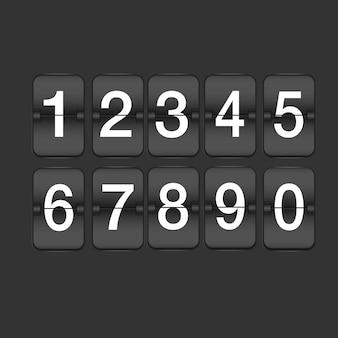 Set of ten numbers