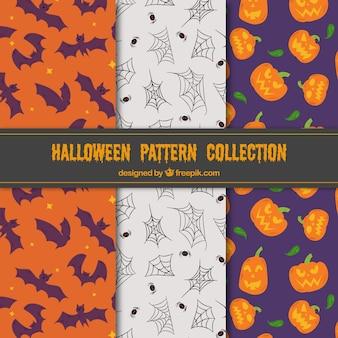 Set di tre modelli di halloween