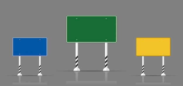 Set traffic sign