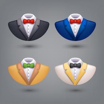 Set of tuxedo