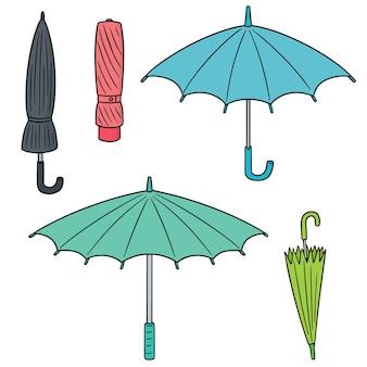 Set of umbrella