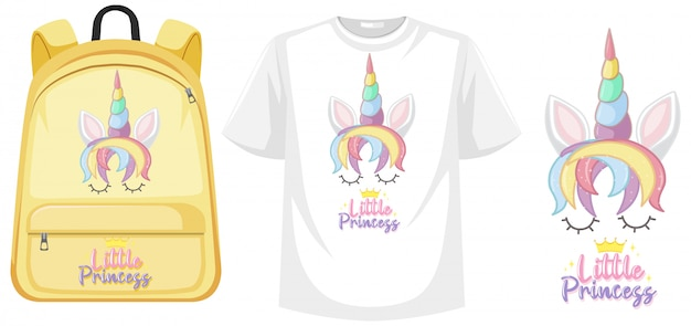 Set of unicorn outfit