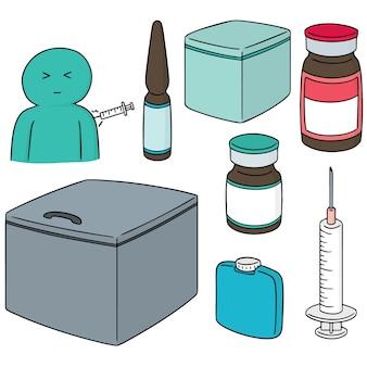 Set of vaccine