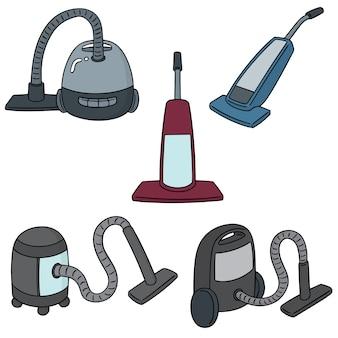 Set of vacuum cleaner