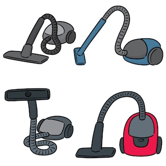 Set of vacuum cleaners