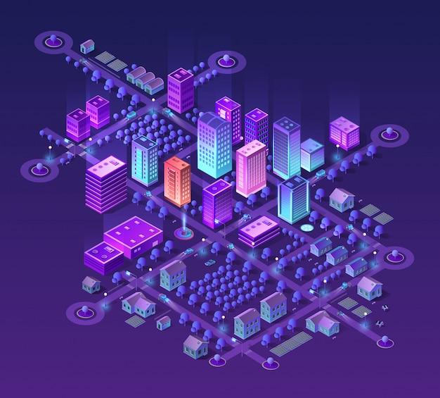 Set of violet colors