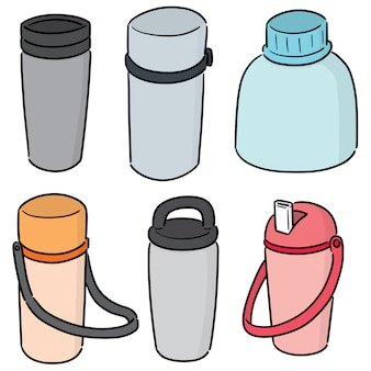 Set of water bottle