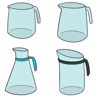 Set of water pitcher