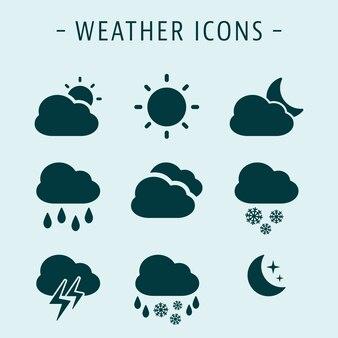 Set weather icons
