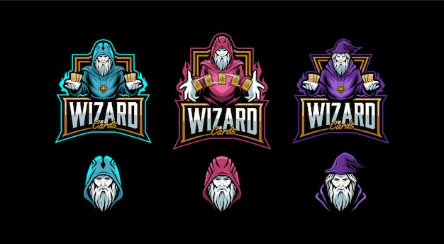 Set of wizard templates