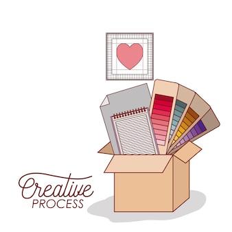 Установить рабочие элементы для графического дизайна