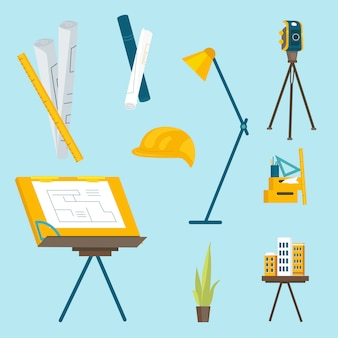 A set of working tools for the architect to work