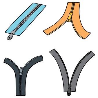 Set of zip