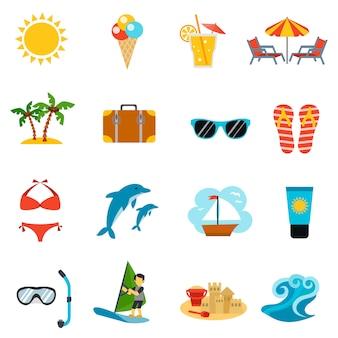 Летние иконы set