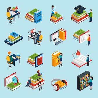Библиотека изометрические иконы set