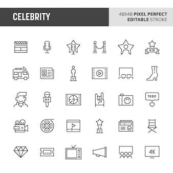 Знаменитости икона set