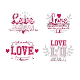 Любовь set