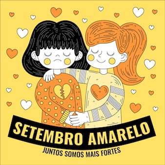 Setembro amarelo with friends