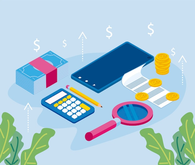 7 개인 재정 아이콘