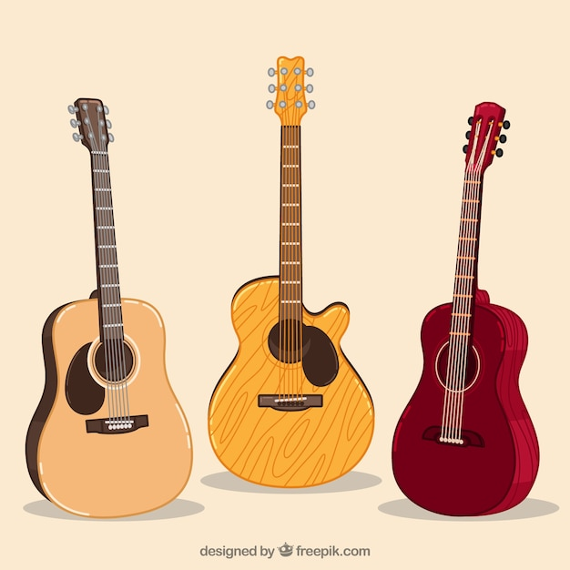 acoustic guitar vectors photos and psd files free download rh freepik com acoustic guitar vector png acoustic guitar vector art