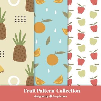 여러 과일 패턴