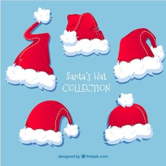 サンタクロースのいくつかの帽子