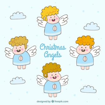Several nice angels drawings