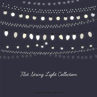 Several vintage string lights