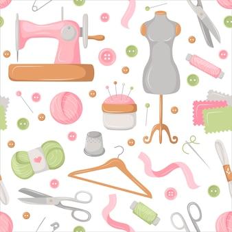 縫製色の背景