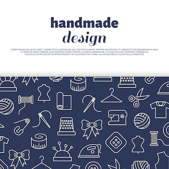 Sewing, needlework, handwork