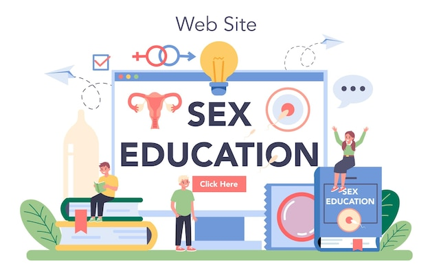 Sexual education online service or platform