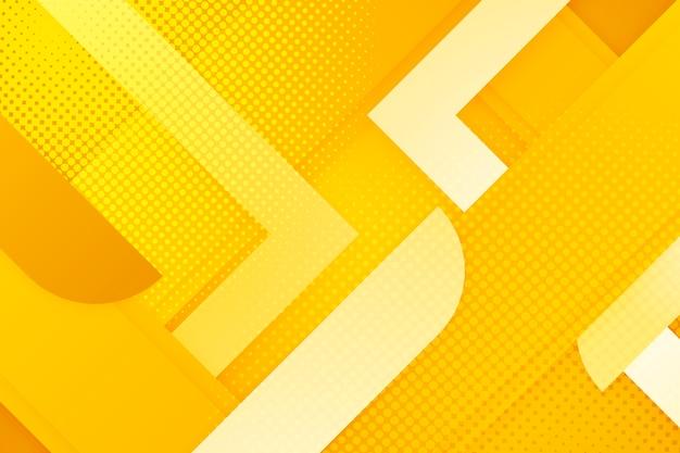 Оттенки желтого полутонового фона