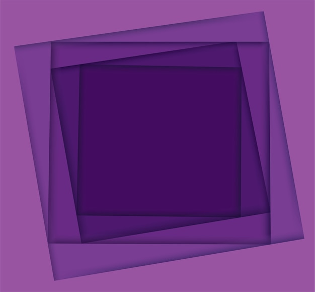 Shades of purple square background