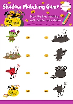 Игра shadow match halloween