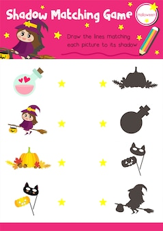Игра shadow match halloween