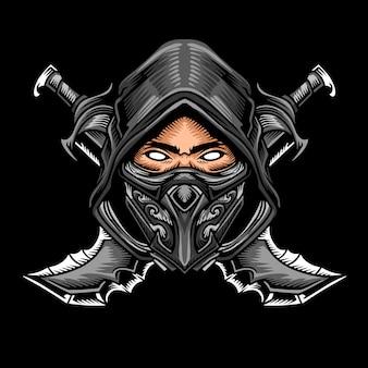 Логотип shadow ninja