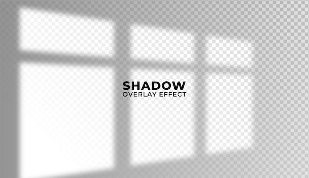 Shadow overlay effect.