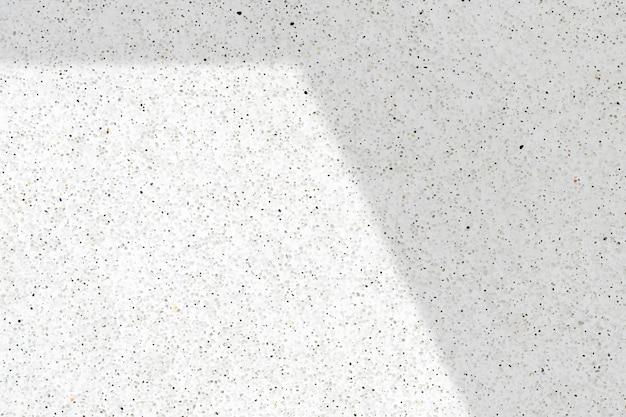 Ombra su sfondo di marmo bianco
