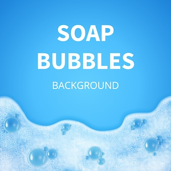 Shampoo foam with bubbles. soap sud vector background. background shampoo soap foam, illustration of