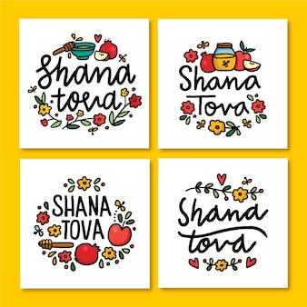 Shana tova card collection