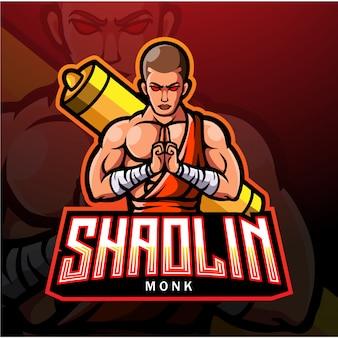 電子スポーツゲームのロゴにshaolin esportのロゴ。