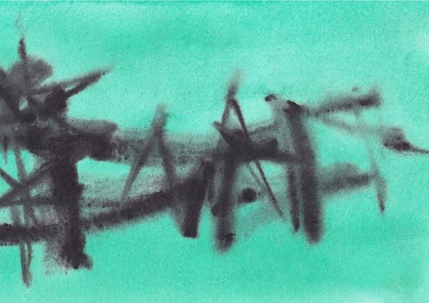 形と線をぶち壊す抽象的な描画