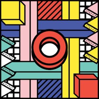 Shape background geometric