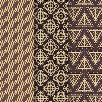 모양의 아트 데코 원활한 패턴