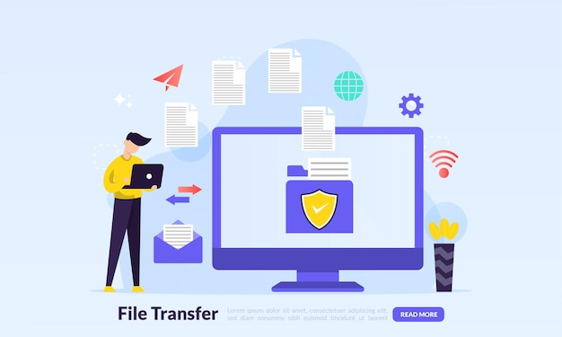 Sharing file concept