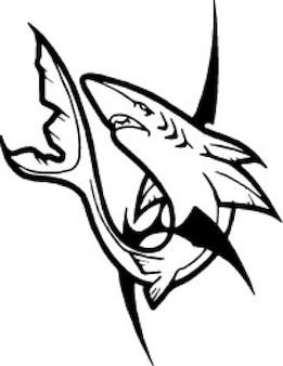 Shark Clipart Free Vector